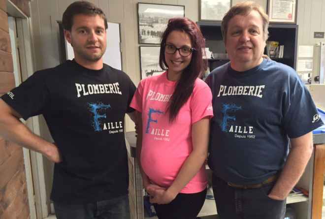 Names iron on transfers for Your Plumbing Services t shirts